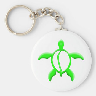 green turtle keychains