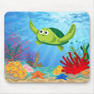 Green Turtle Mousepad