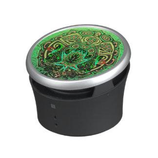 Green Turtle Pattern Bluetooth Speaker