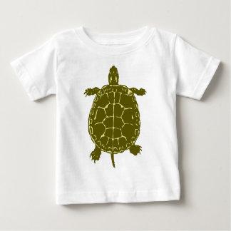 Green Turtle Shell Sea Ocean Gift Present Baby T-Shirt