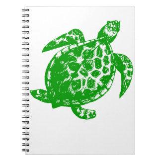 Green Turtle Sketch Notebook