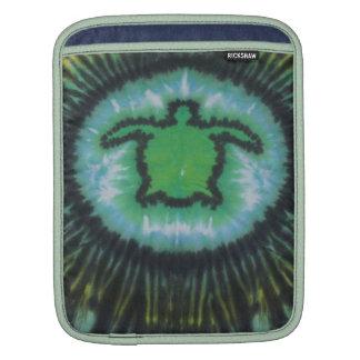 Green Turtle Tie Dye iPad Sleeve
