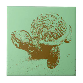Green Turtle Tile