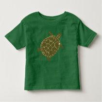 Green Turtle Toddler T-shirt