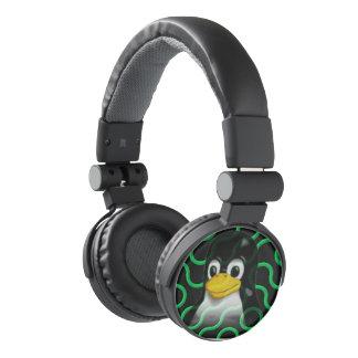 Green Tux Truchet Headphones