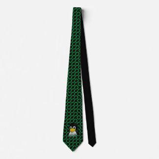 Green Tux Truchet Tie