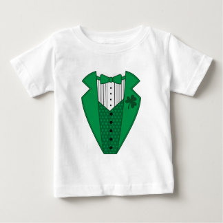 Green Tuxedo Baby T-Shirt