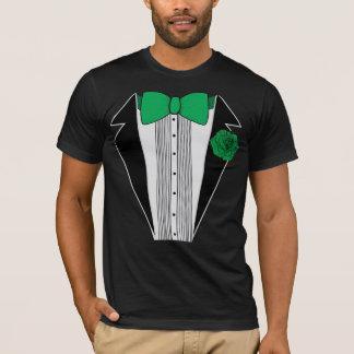Green Tuxedo Shirt