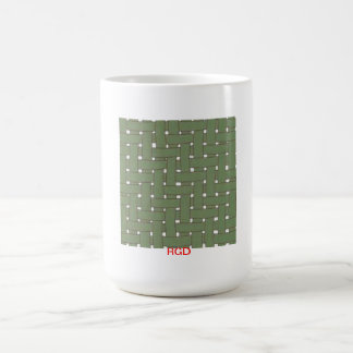 GREEN TWILL WEAVE PATTERN Mug