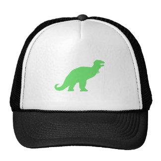 Green Tyrannosaurus Rex Hats