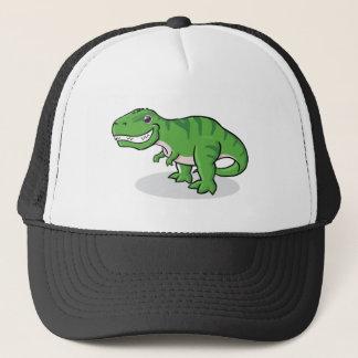 Green Tyrannosaurus Rex (T-Rex) Dinosaur Trucker Hat