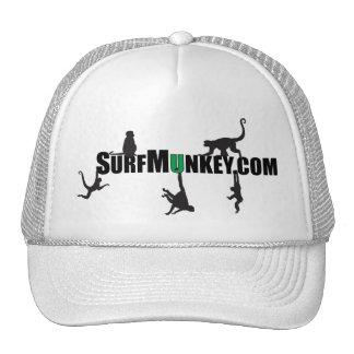 "Green ""U"" in Hanging Munkeys design Trucker Hat"