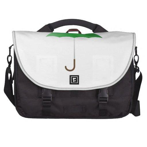 Green Umbrella Laptop Commuter Bag