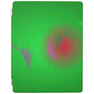Green Universe and a Red sun iPad Cover