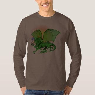 Green Universe Dragon and Sun Shirts