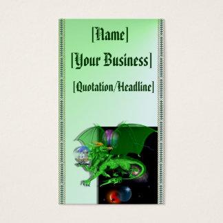 Green Universe Dragon profilecard_business_vert... Business Card