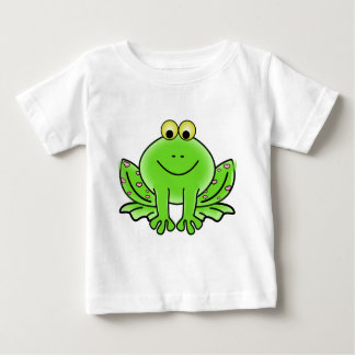 Green_Valentine_Frog_with_pink_hearts.png T Shirt