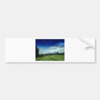 Green Valley Grass Bumper Sticker