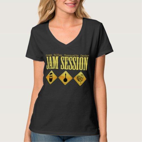 Green Valley Jam Session V_Neck T_Shirt