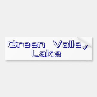 Green Valley Lake Bumper Stickers