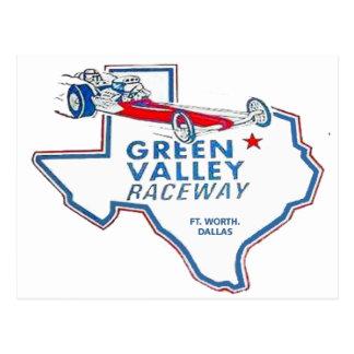 Green Valley Raceway Postcard