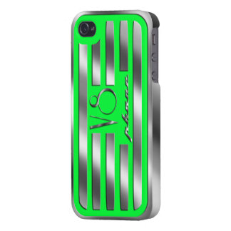 Green Valve Cover iPhone V8 Case