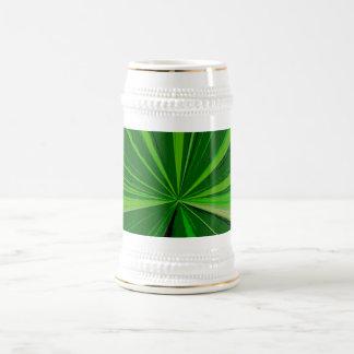 Green Vanishing Point Beer Stein 18 Oz Beer Stein
