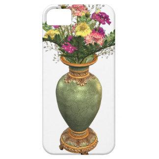 Green Vase and Floral Arrangement iPhone 5 Case