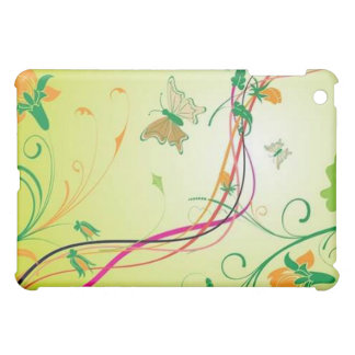 green vector image cover for the iPad mini