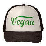 Green Vegan Hat