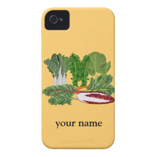 Green Vegetables Personalized Veggie iphone 4 4S Case-Mate iPhone 4 Cases