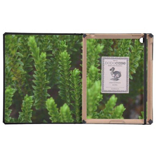 Green Vegetation Case For iPad
