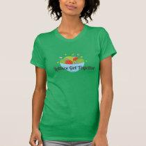 green veggie shirt