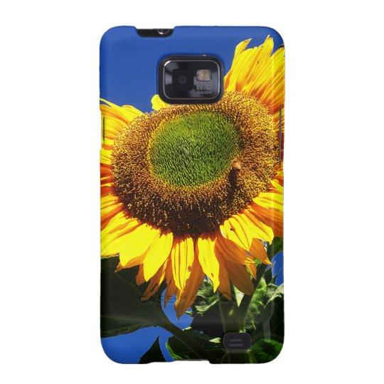 Green Velvet Sunflower Samsung Phone Case