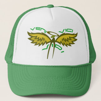 Green Version of Veni Vidi Vici Trucker Hat