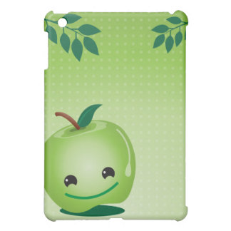 Green vertical iPad mini cover