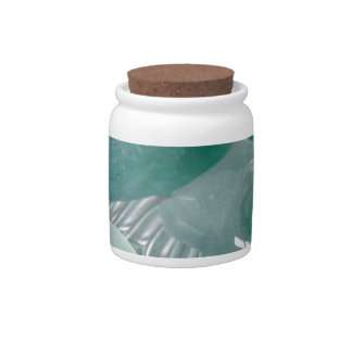 Green Vibrations Green Sea Glass Candy Dishes