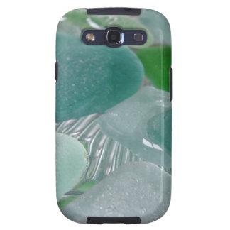 Green Vibrations Green Sea Glass Samsung Galaxy SIII Cases