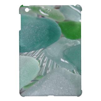Green Vibrations Green Sea Glass iPad Mini Covers