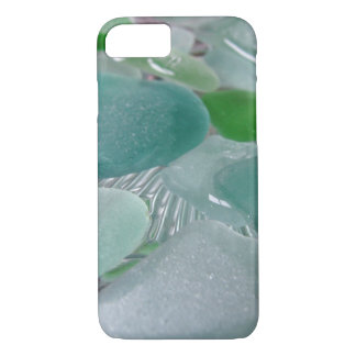 Green Vibrations Green Sea Glass iPhone 7 Case