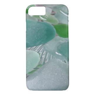 Green Vibrations Green Sea Glass iPhone 7 Case