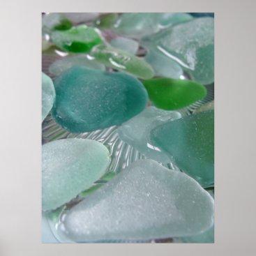 LHSeaglass Green Vibrations Print