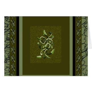 Green Vineattica Vines Design CricketDiane Card