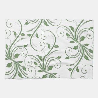 Green Vines Kitchen Towels