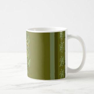 Green Vines Vineattica 2 Designer CricketDiane Coffee Mug