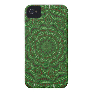 Green Vintage Fabric Blackberry Case