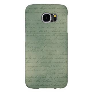 Green Vintage Letter Case
