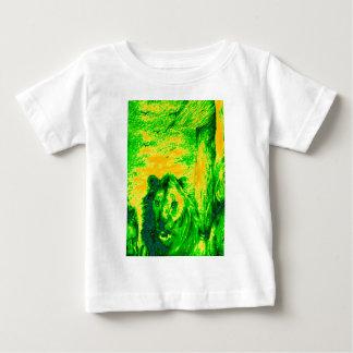Green Vintage Lion simba Hakunamatata Simba Marara Baby T-Shirt