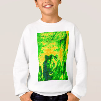 Green Vintage Lion simba Hakunamatata Simba Marara Sweatshirt