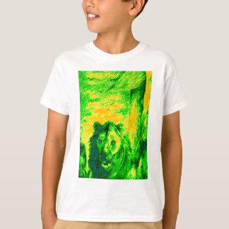 Green Vintage Lion simba Hakunamatata Simba Marara T-Shirt